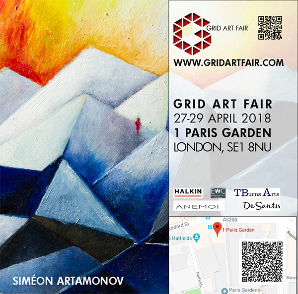 Grid Art Fair flyer